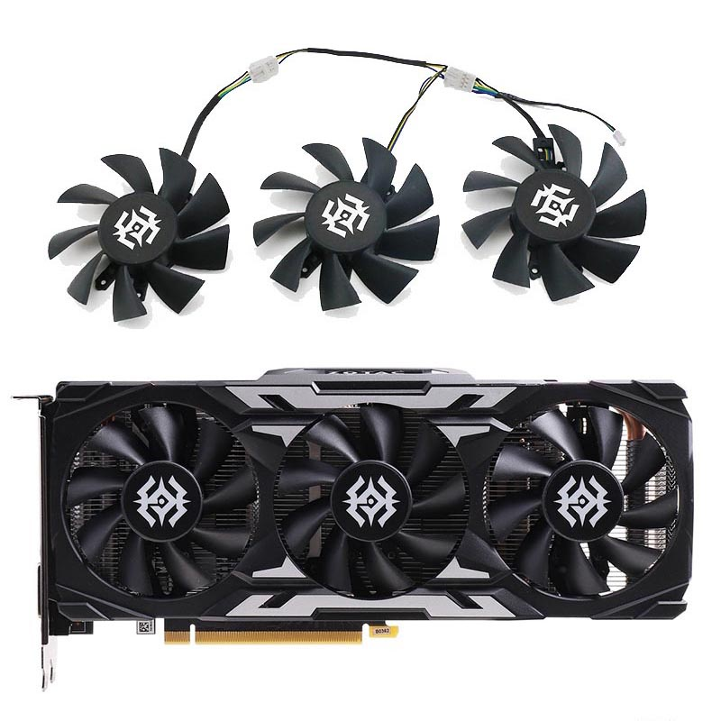 ZOTAC/索泰GeForce GTX 1660 SUPER X-GAMING OC3 PRO 显卡风扇