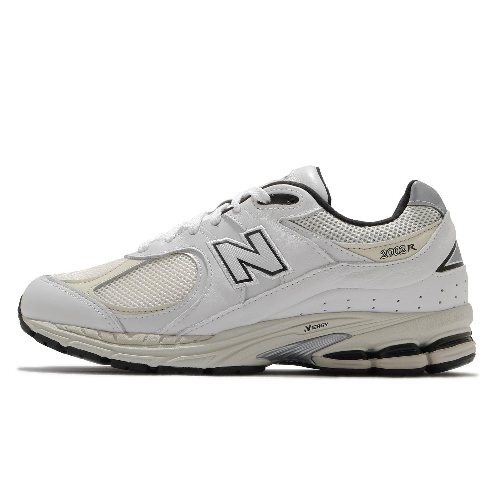 New Balance 慢跑鞋 2002R 男 女 全尺段 白 米白 復古 休閒 情侶鞋【ACS】 ML2002RQD