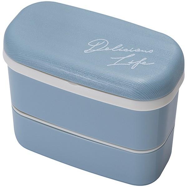 日本製Picket雙層便當盒(牛仔藍色)【康是美】
