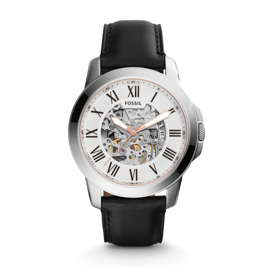 FOSSIL手錶 ME3101 前後鏤空 羅馬面盤 藏不住的霸氣 機械錶款 錶現精品 原廠正貨