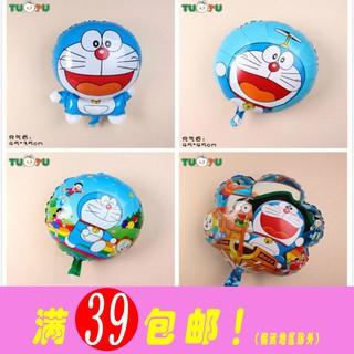 滿220元出貨生日派對周歲百天生日趴氣球布置裝飾哆啦a夢氣球機器貓鋁箔氣球