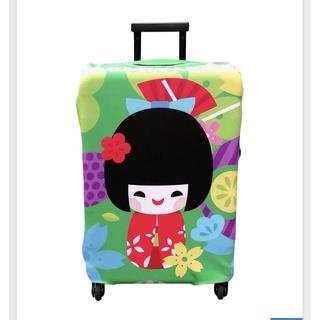 日本娃娃 達摩24-26吋行李箱套 全新未用 行李套 行李箱套 24吋 26吋 300g 高密度 彈性 彈力布 日本娃娃 臺北市