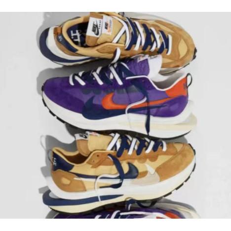 預購 Sacai X Nike VaporWaffle 卡其 紫 奶茶 DD1875-200