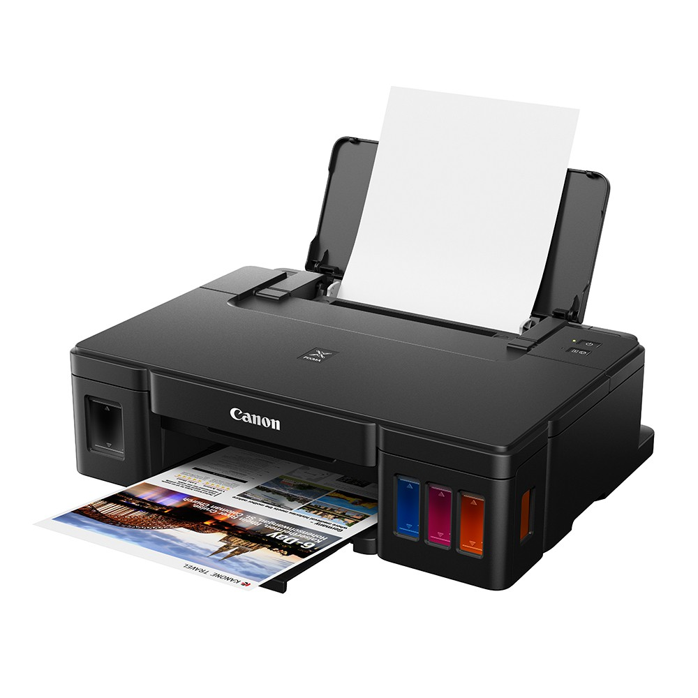 Canon 佳能 PIXMA G1010 純列印 原廠大供墨印表機 連續供墨 含原廠墨水