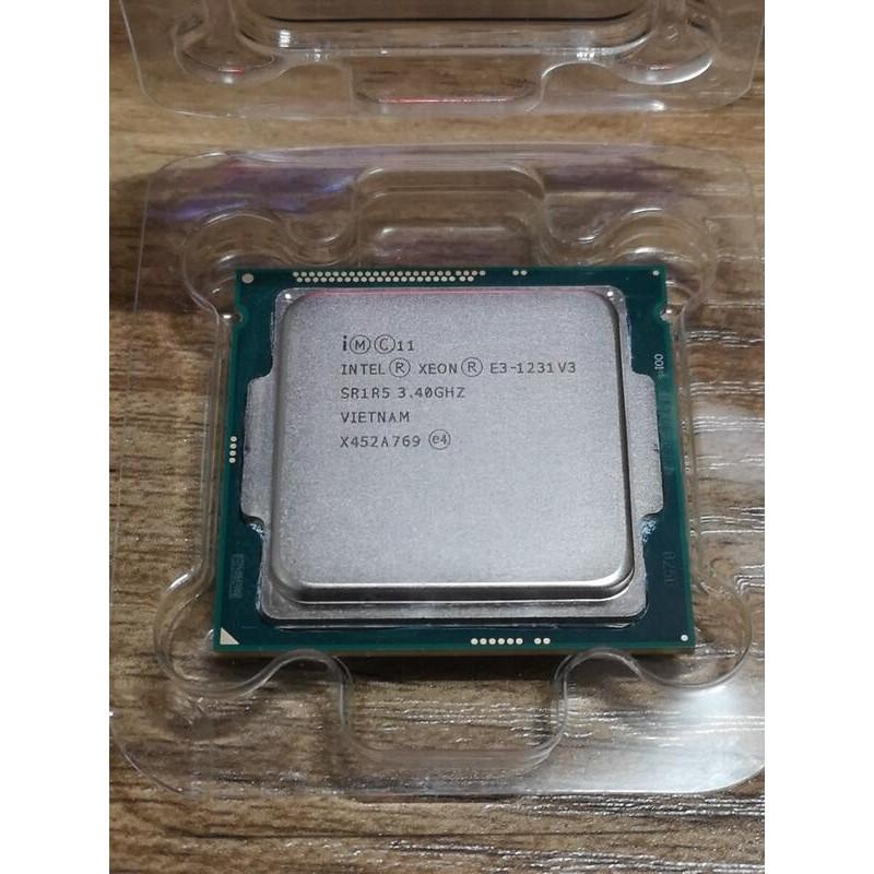 (二手)Intel Xeon CPU E3-1230v3