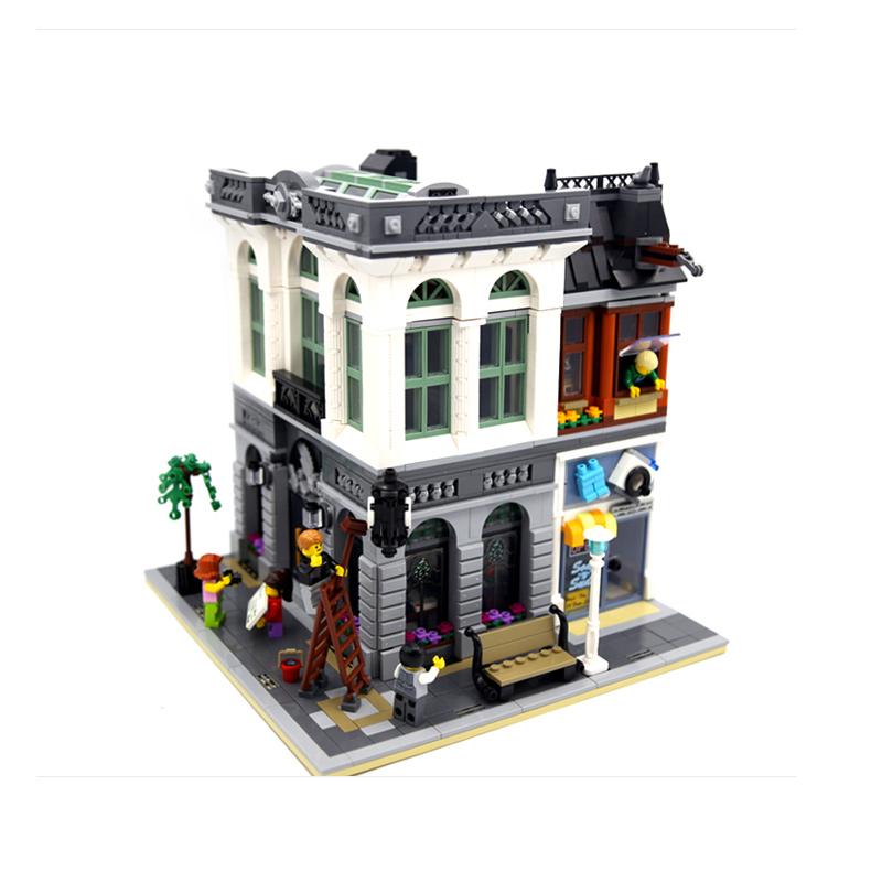 新產品LEGO樂高10251Creator銀行大樓磚塊銀行城市街景系列拼裝積木玩具