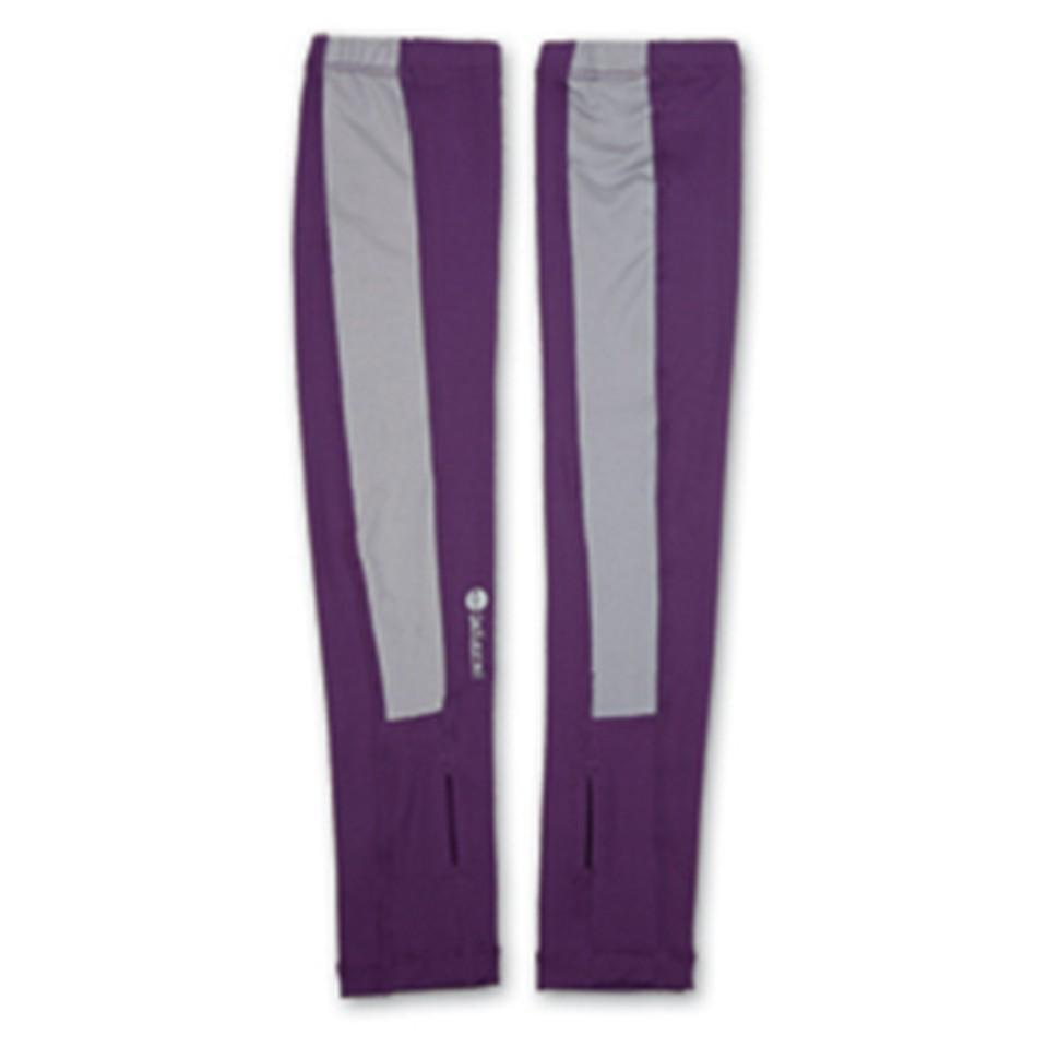 【Wildland 荒野】中性開洞抗UV透氣袖套W1801-53 紫色 /防曬袖套/抗UV袖套/彈性排汗快乾/台灣製造