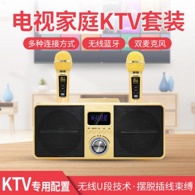 💓《現貨》SD309,SDRD 家庭歡唱KTV,K歌音箱,藍牙麥克風,藍牙喇叭,卡拉OK機,一鍵消音,