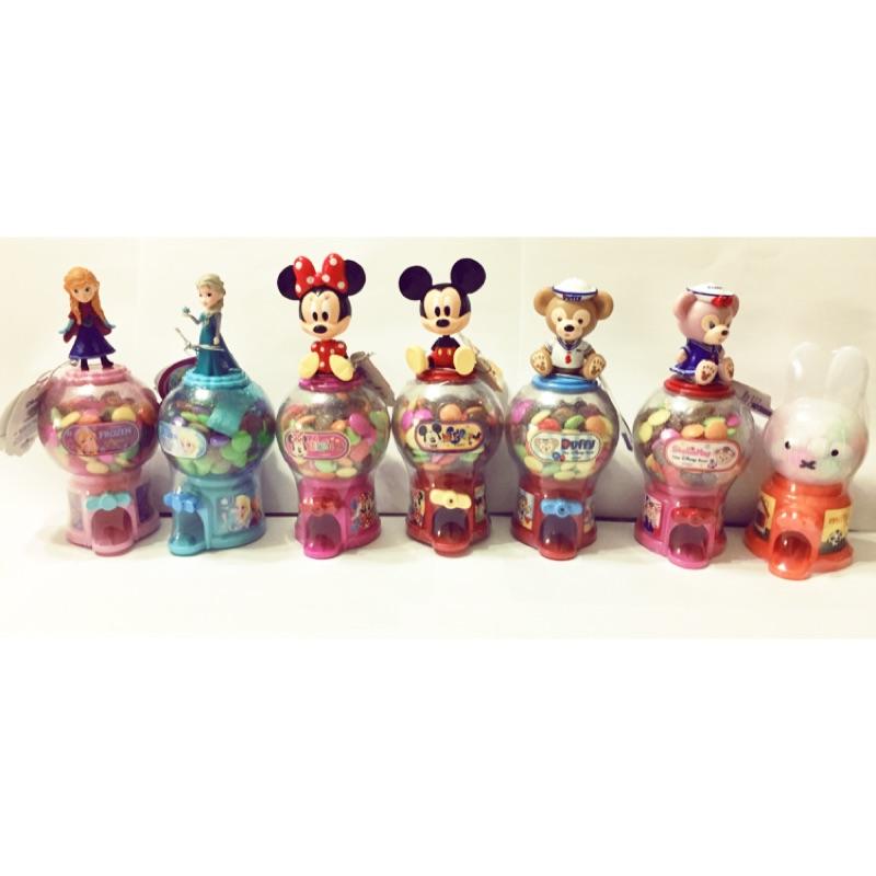 迪士尼 迷你扭蛋機 轉蛋機 糖果機