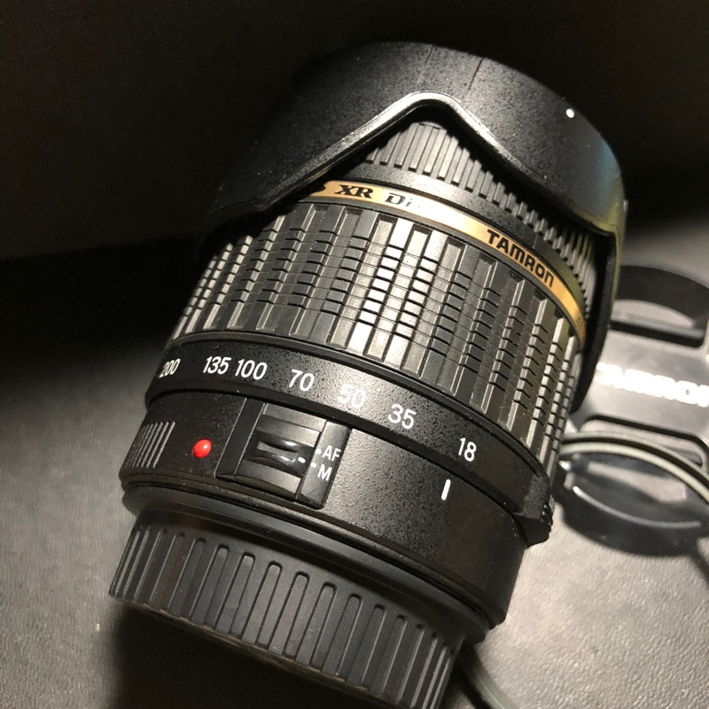 Tamron 騰龍 for canon 18-200mm f3.5-6.3 鏡頭