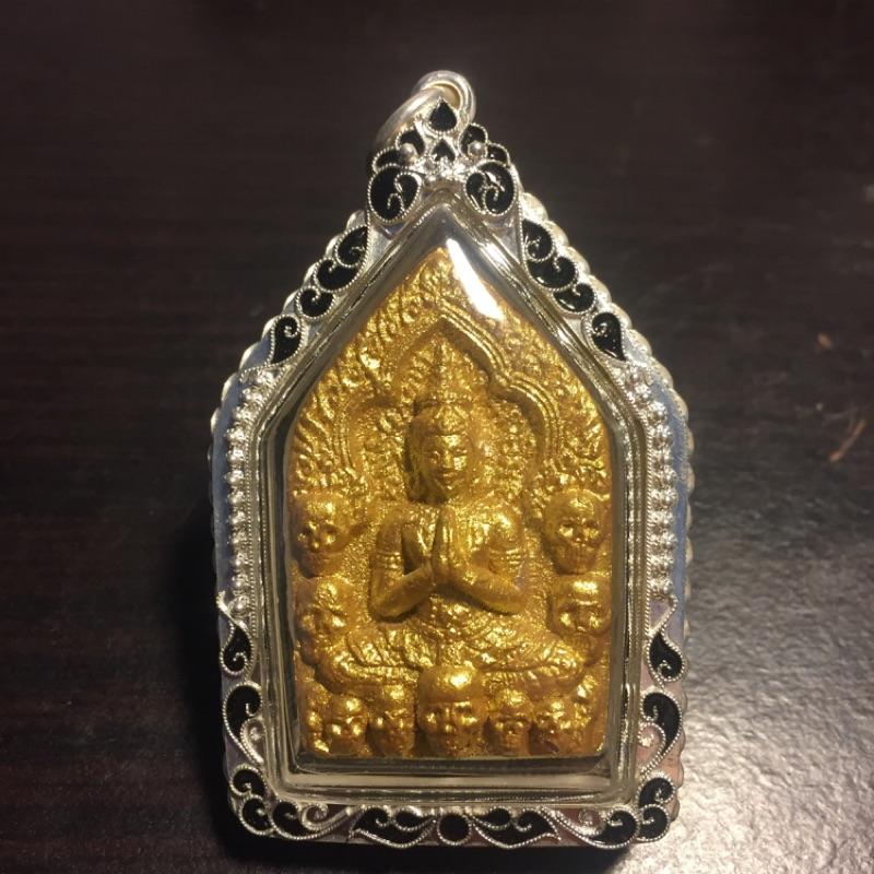 [阿贊寶珠]阿贊摩納 帝女花 魔王坤平 金面符管版 防水鋼殼 特價12000