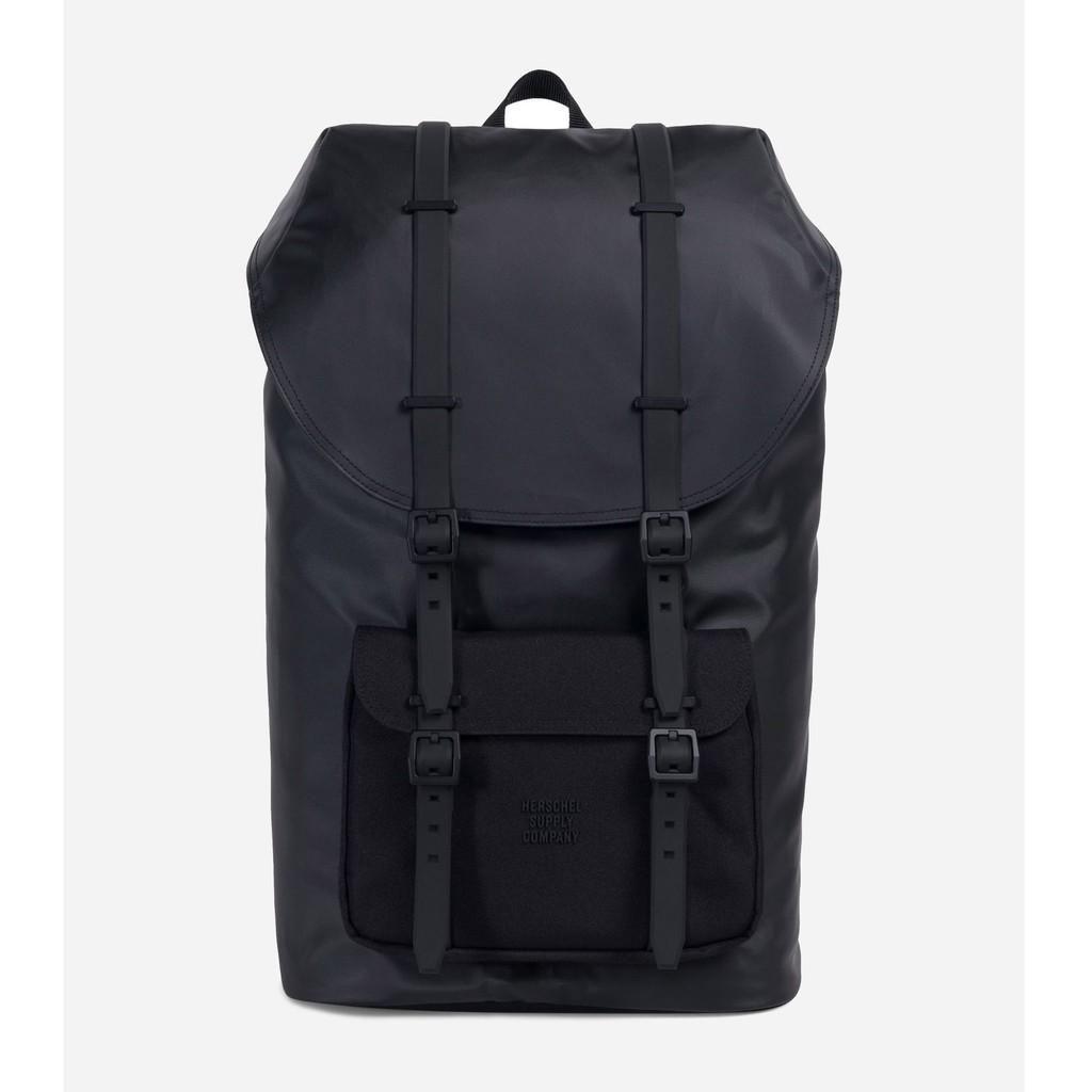 Herschel Little America 大型 高階 Studio 黑色 全黑 橡膠帶 防水 後背包 背包 現貨