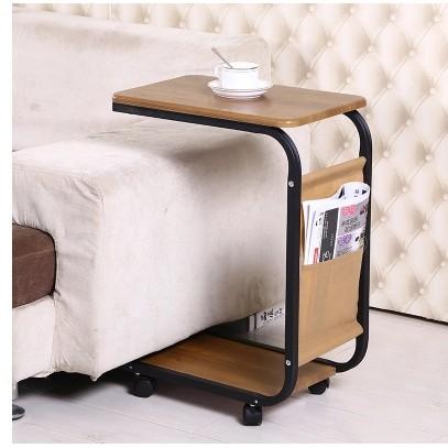 Eternal808 邊幾可移動小茶几簡約迷你沙發邊桌邊櫃北歐角幾方幾床頭桌小茶桌
