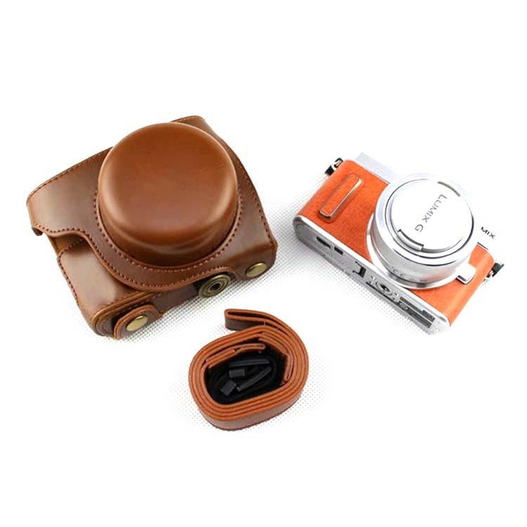 適用松下DMC-GF7 GF8 GF9 GF10相機包皮套微單相機套保護套單肩包