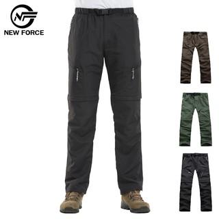 【NEW FORCE】兩截式速乾防潑水透氣休閒工作褲-男女款/ 三色可選 臺中市