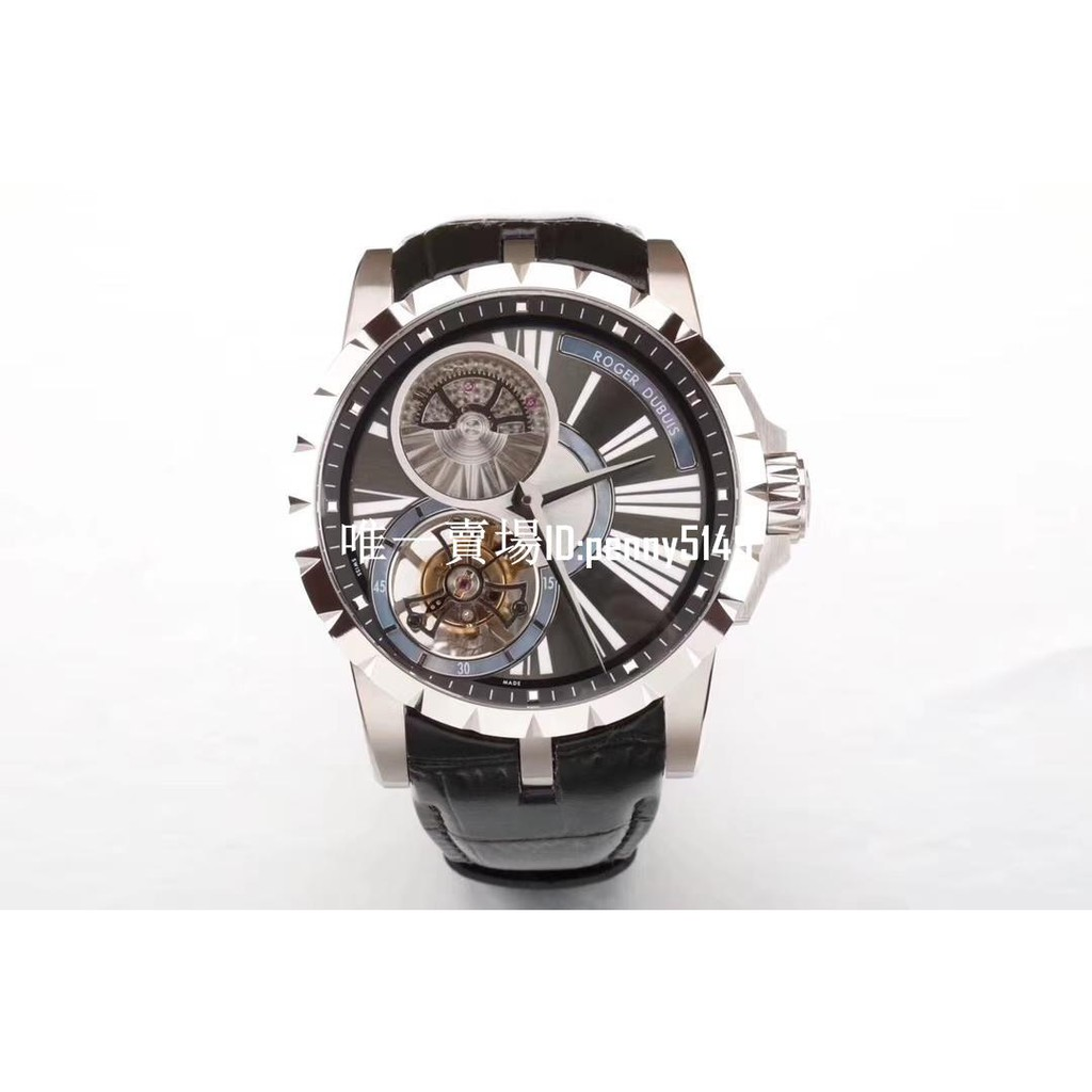 BBR廠 羅杰杜彼 EXCALIBUR(王者系列)RDDBEX0261腕表 RD540機芯腕錶 機械腕錶 陀飛輪腕錶
