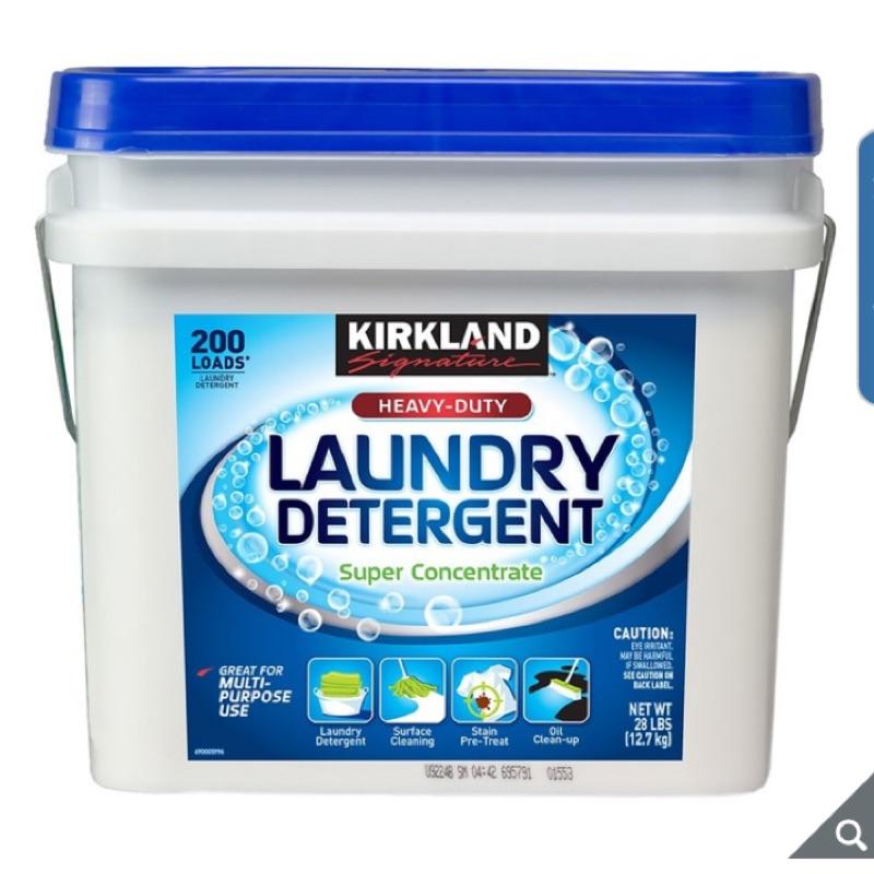 Kirkland Signature 科克蘭 專業級濃縮洗衣粉 12.7公斤 costco 好市多 自有品牌