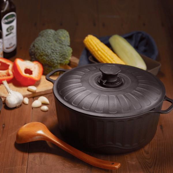 [經典款] 大古鐵器 TAKU 鑄鐵萬用鍋 (27cm/含鑄鐵鍋蓋)
