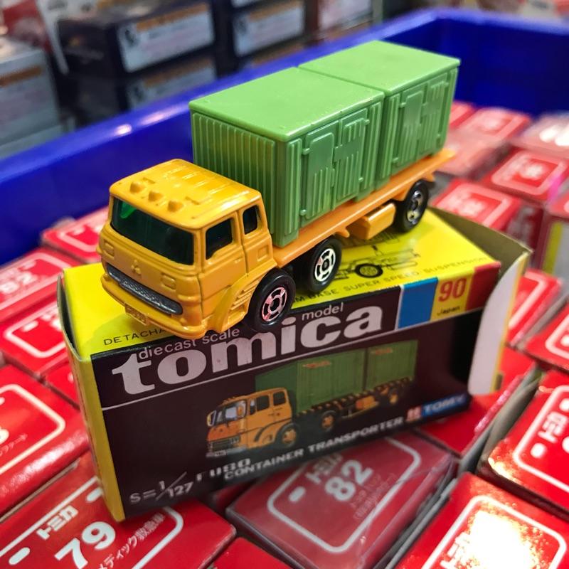 Tomica多美日製黑盒絕版聯結車no.90