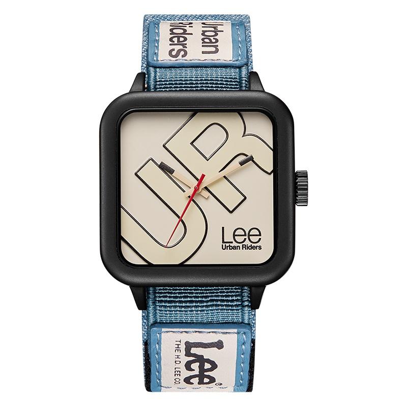 LUUD原創館  Lee情侶手錶潮創意設計運動方形男錶女石英手錶復古新品U261腕錶