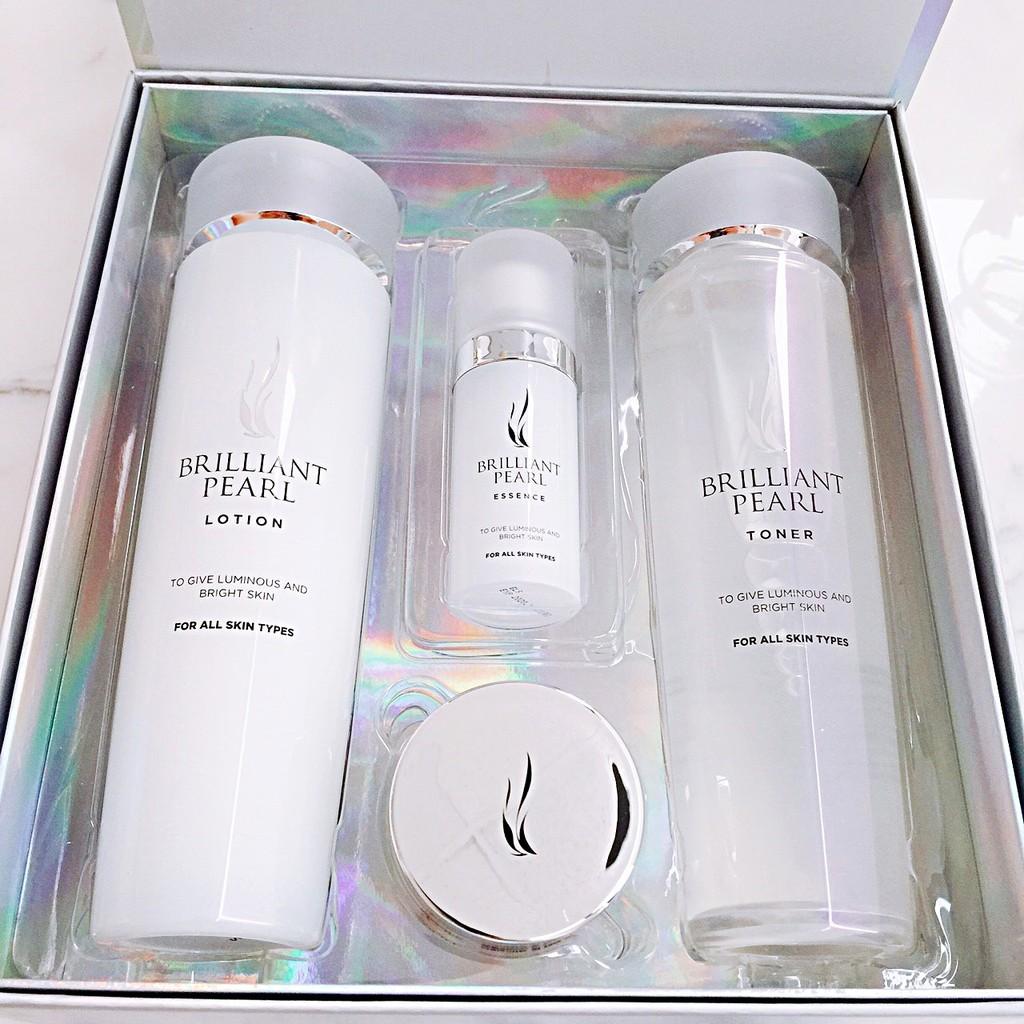 韓國 AHC 珍珠透亮保養組合 四件組 化妝水 乳液 面霜 乳霜 精華液 現貨現貨