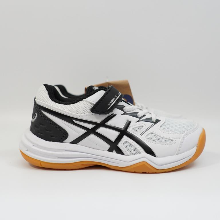 ASICS UPCOURT 4 PS 中童款 羽球鞋 1074A029-100 亞瑟士 兒童 桌球鞋 多功能鞋