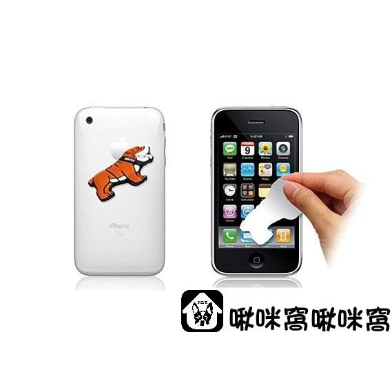 啾咪窩~~ mini COOPER COOPERS COUNTRYMAN原廠生活精品鬥牛犬 手機 貼紙 螢幕擦