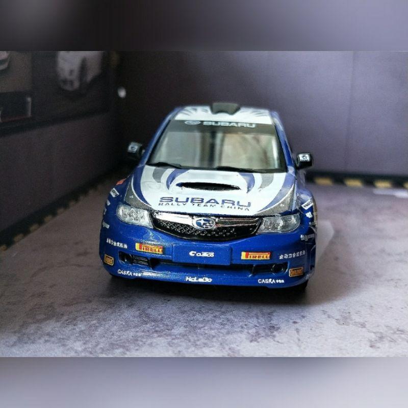 現貨散裝1/43 SUBARU IMPREZA WRC 合金模型車