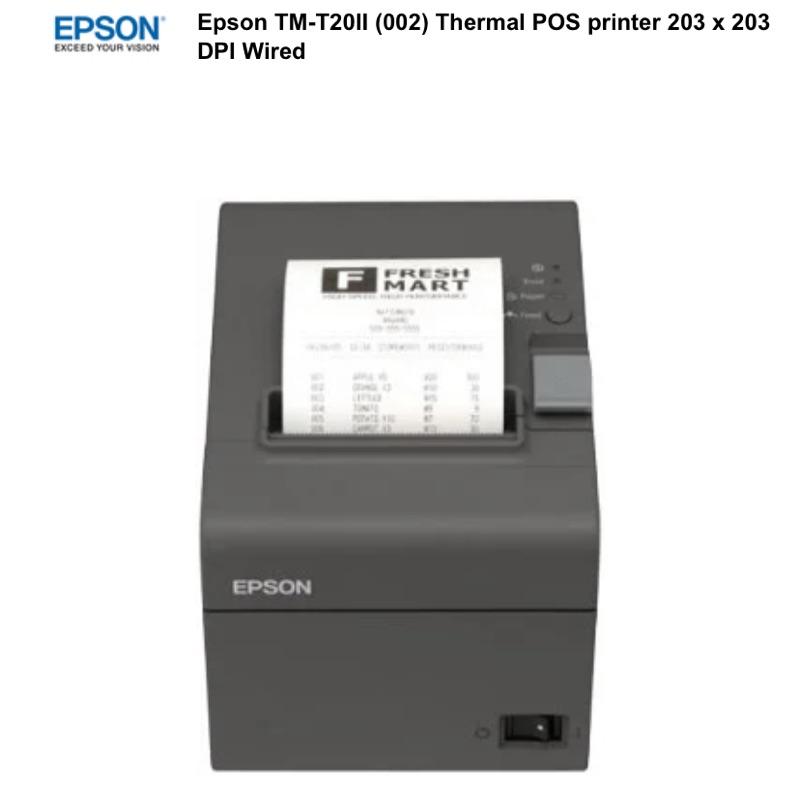 EPSON TM-T20II 熱感式POS印表機203*203DPI有線POS