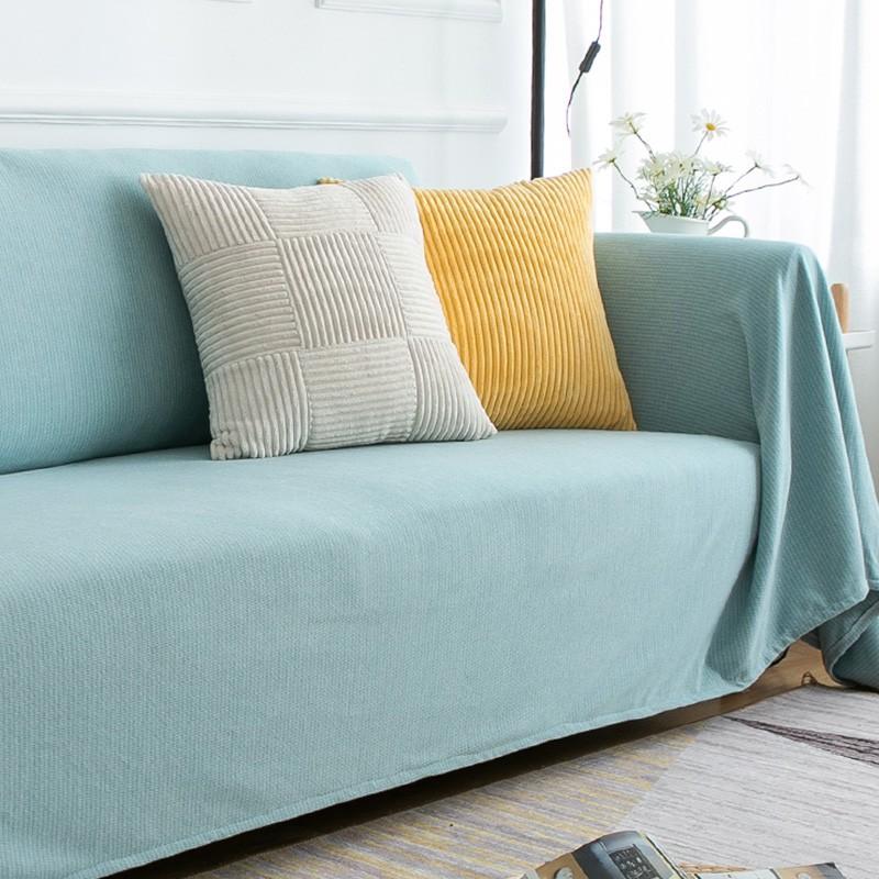 ┇◈☌防貓抓沙發蓋布全包萬能保護套罩沙發布網紅北歐風格簡約沙發墊巾11