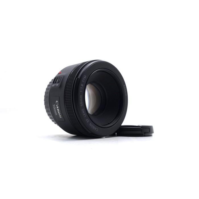 【台中青蘋果】Canon EF 50mm f1.8 STM 定焦鏡 二手鏡頭 單眼鏡頭 #55175