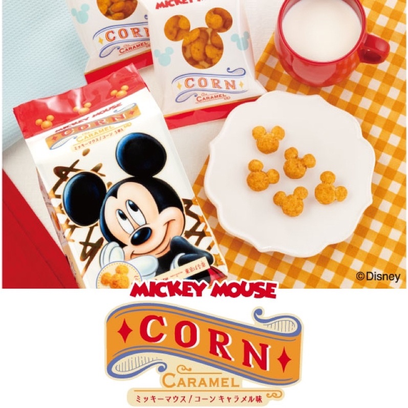 (預購)Tokyo Banana 迪士尼 米奇 mickey mouse 米老鼠 米奇頭立體造型 焦糖玉米餅乾 日本代購