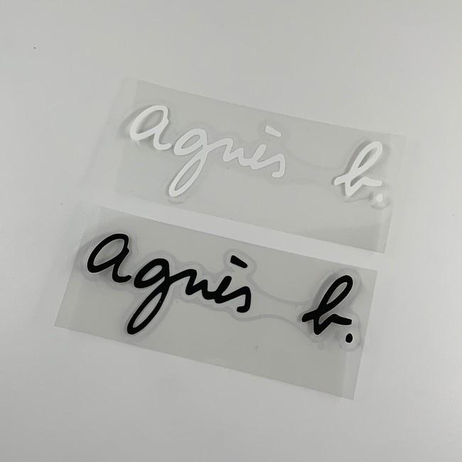 agnes b.  機車 汽車 重機 安全帽 防水 不脫落 貼紙 車身貼紙 品質優