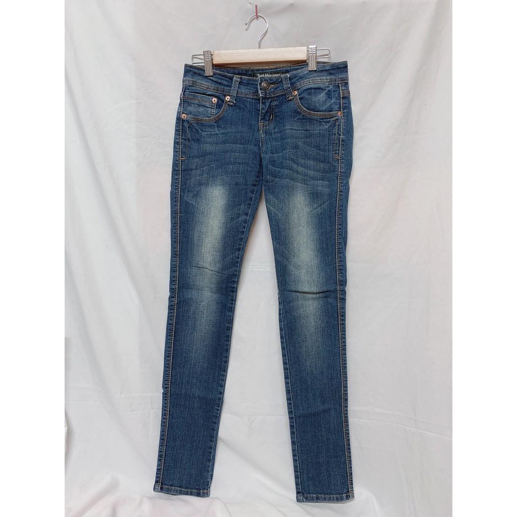轉賣 Tank Blue Jeans 顯瘦牛仔長褲 牛仔褲