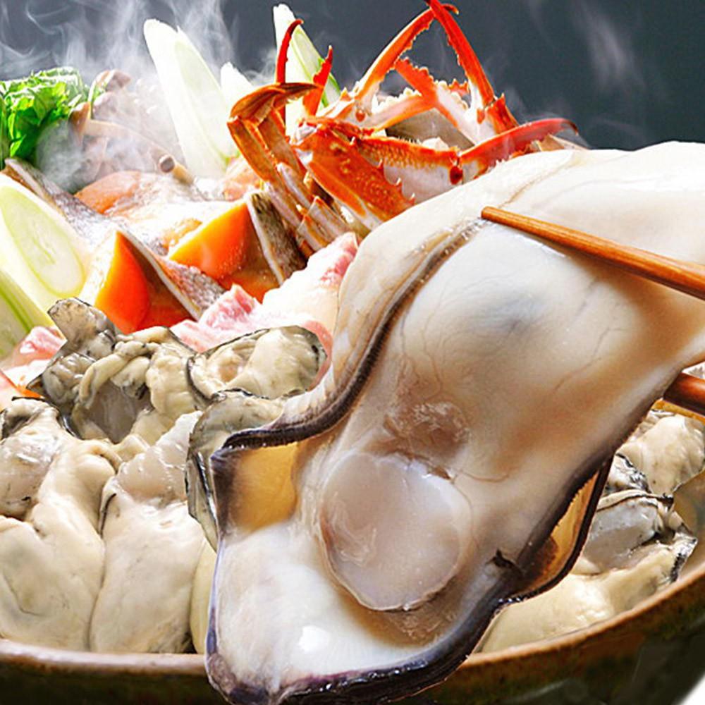 【上野物產】日本超大顆帶殼牡蠣 (180g)顆