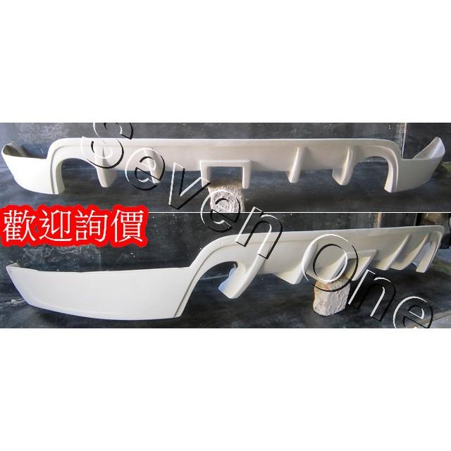 ☆ SEVEN ONE ☆ FORD FOCUS MK2 (5門) 後下巴 中包 05-08年 (空力套件)