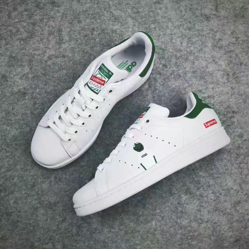 new product 5368b 9bf5f Adidas Stan Smith x Supreme 聯名款 史密斯青蛙