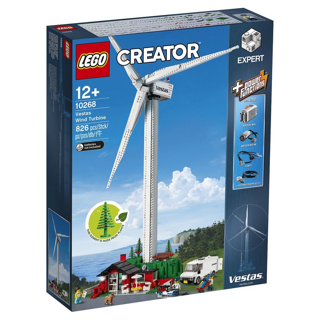 【怪獸積木】LEGO 10268 Creator Vestas Wind Turbine 風力發電機
