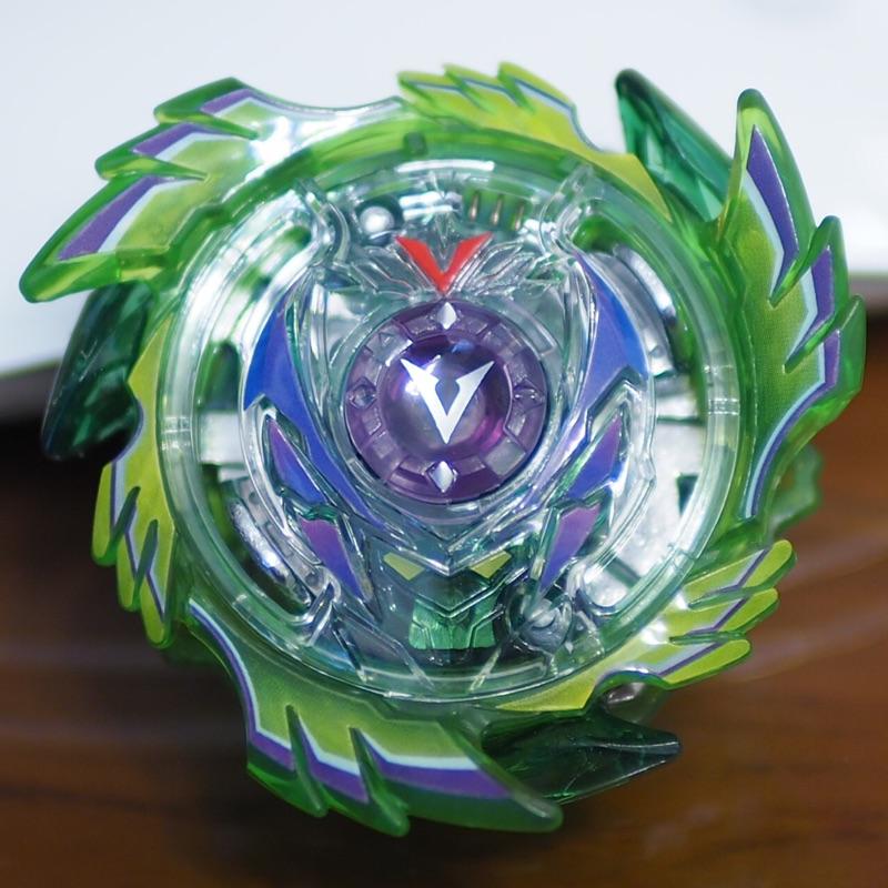 戰鬥陀螺 水晶 綠色 翡翠 翔翼戰神 整顆陀螺 異色版 b87 非b73 b76 B-00