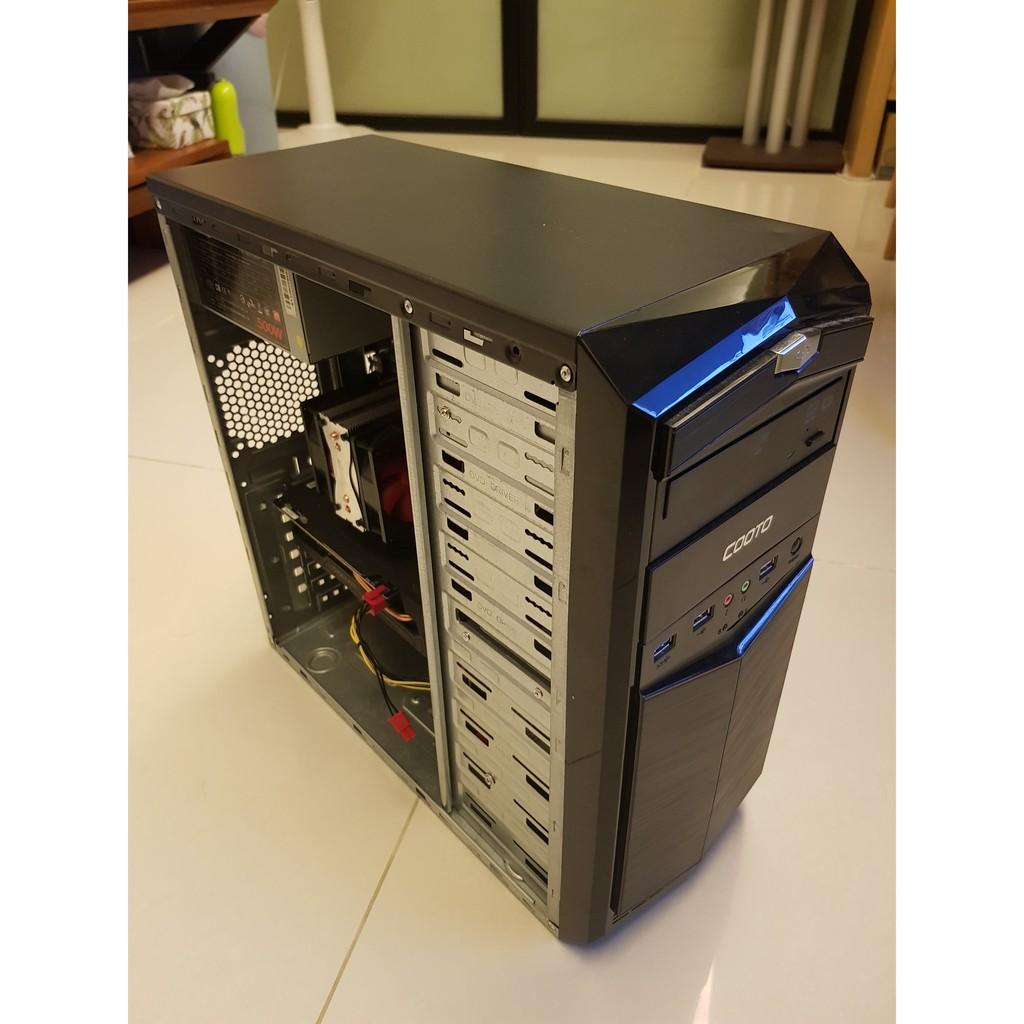 自組電競機 可超頻 i5 2500k Z68 GTX750 8GB 500G HDD 500W