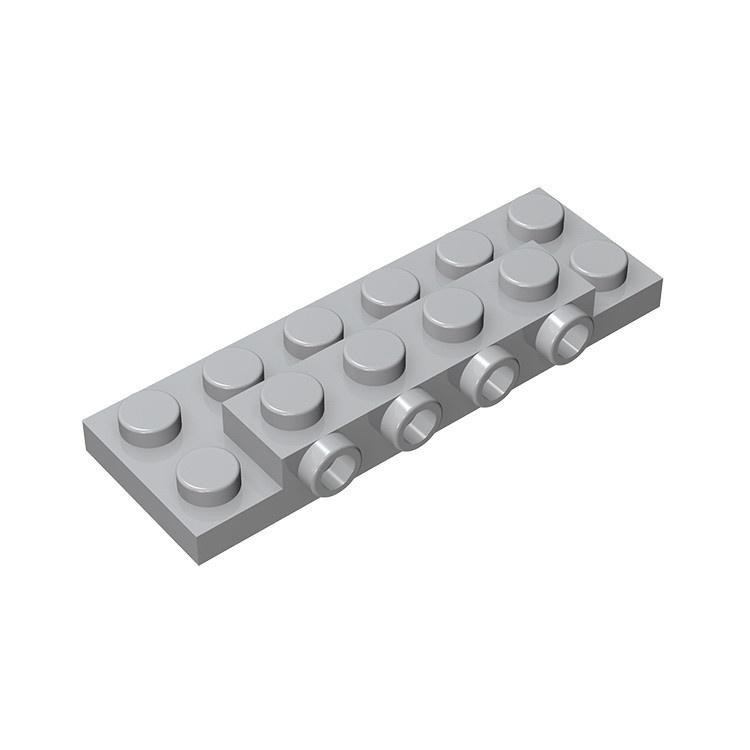 【酷玩優先】磚友MOC 87609小顆粒積木相容樂高零件2x6單側帶4顆粒轉接板