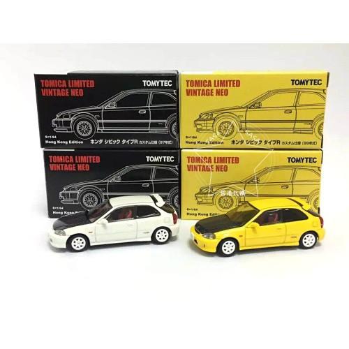 現貨❗️香港代購正品 TOMYTEC 香港限定款 EK9白黃一組 本田 喜美 Civic TypeR EK9
