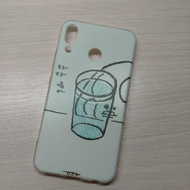 【二手】手機殼 空壓殼 硬殼 素色 插畫 華碩ZenFone 5Z (ZS620KL)