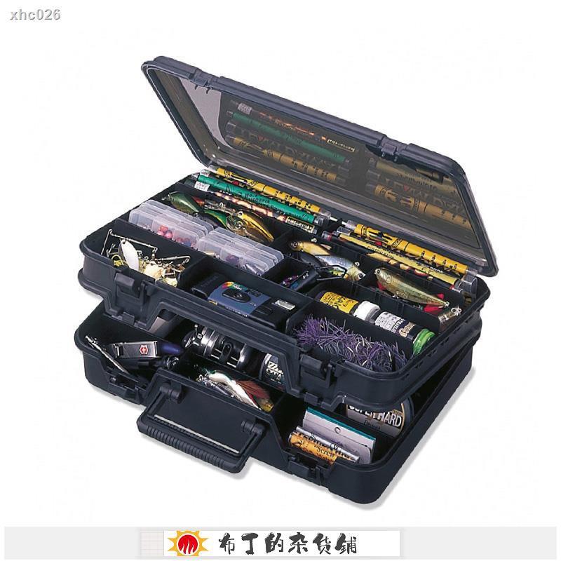 日本進口MEIHO明邦(名邦)VS-3070路亞箱假餌盒船釣雙層工具箱
