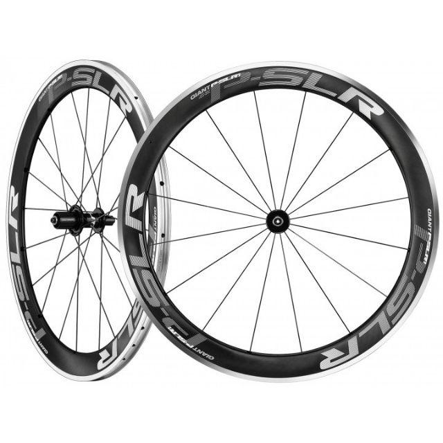 Giant  P-SLR1 AERO 鈧合金複合輪組 ~ 高框板輪式輪組( 碳板鋁邊 )