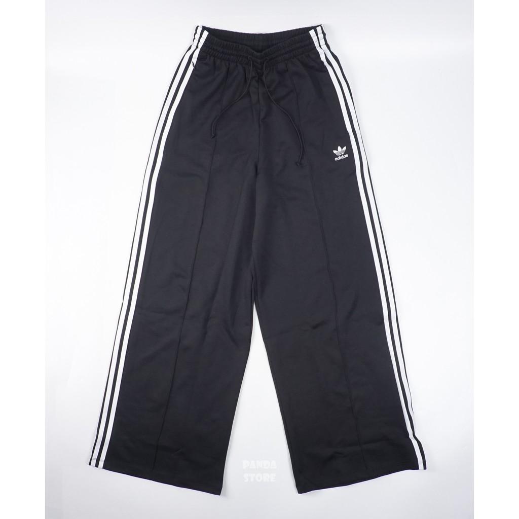 胖達)ADIDAS ORIGINALS RELAXED PB 復古 寬褲 長褲 GD2273 黑 女