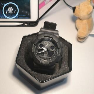 CASIO 卡西歐 G-SHOCK 防水 防震 情侶款 運動 機械手錶 重機雙顯手錶 卡西歐手錶 GA-100-1A1 桃園市