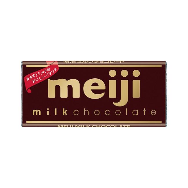 明治牛奶巧克力(片裝) 50g 【大潤發】