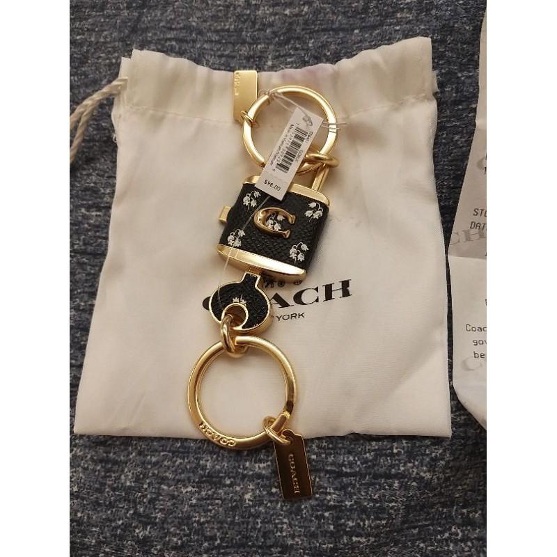 COACH-鎖頭+鑰匙