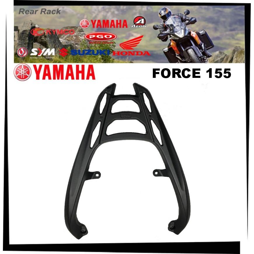 【TL機車雜貨店】YAMAHA FORCE 155 鋁合金 後架 後貨架 漢堡架 後箱架 後置物箱架(SMAX不通用)